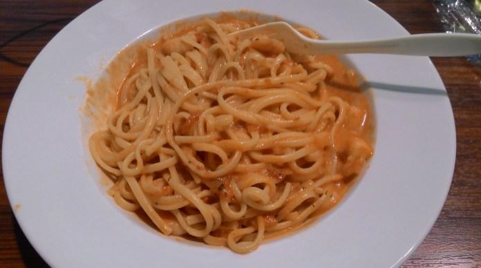 another version of seafood marinara