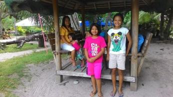 a nipa hut - guest shed