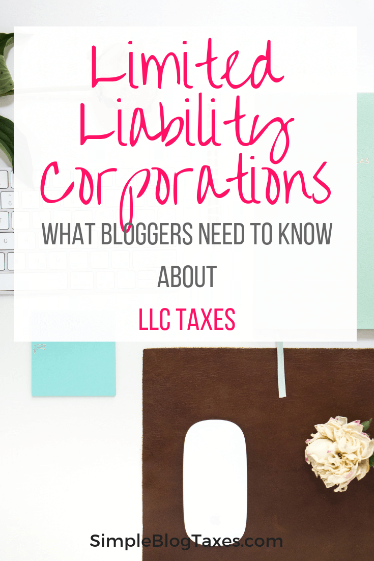 Should your blog be an LLC? Learn the pros and cons of forming an LLC for your blog and the tax implications. #Taxes #BlogTaxes #BlogLegal #LLC #SmallBusinessLLC #BlogTips Team-Cartwright.com