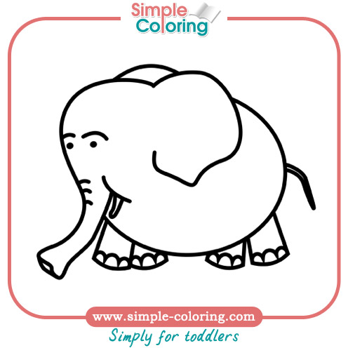 simple coloring pages for toddlers simple coloring pages for