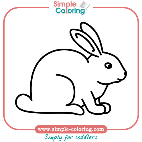 simple coloring animals simple coloring pages for toddlers