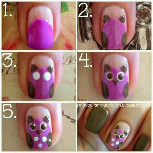 Pink Nail Art Tutorial