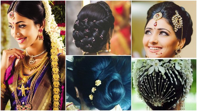 indian bridal hairstyle - simple craft ideas