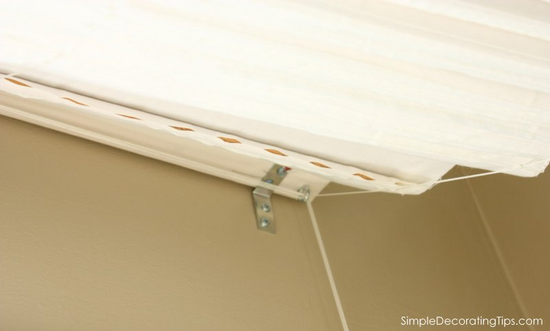 SimpleDecoratingTips.com Why a Roman Shade with a Cafe Panel was the Right Choice