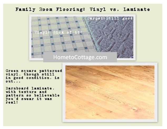 HometoCottage.com Flooring before and after