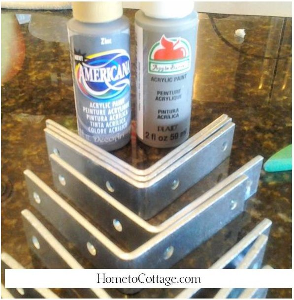 HometoCottage.com paint cheap brackets