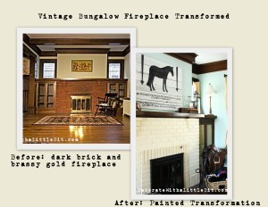 HometoCottage.comHometoCottage.com fireplace before and after