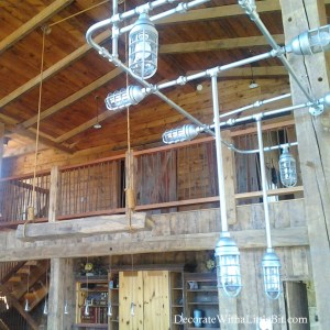 HometoCottage.com lights in the 7 barn house