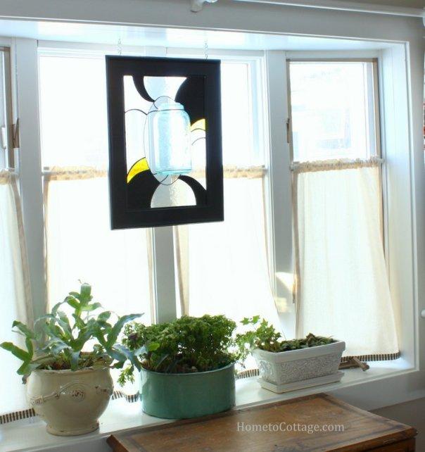 HometoCottage.com Breakfast Room bay window