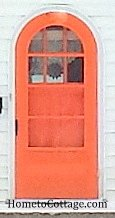 HometoCottage.com orange door
