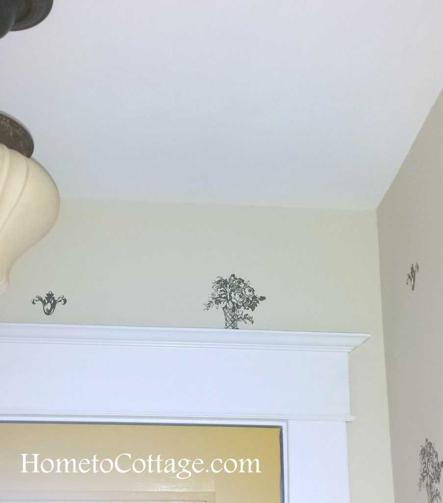 HometoCottage.com continuing pattern over doors necessary