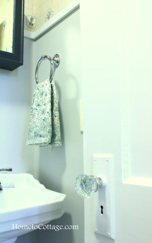 HometoCottage.com Pottery Barn hand towel holder