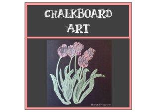 HometoCottage.com Simple Chalkboard Art