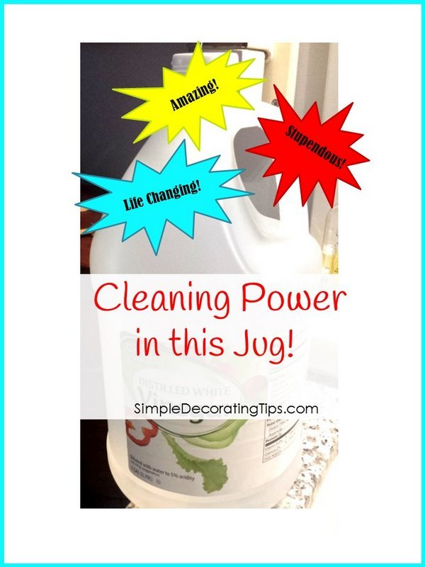 SimpleDecoratingTips.com cleaning power