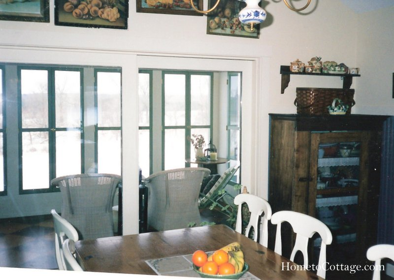 HometoCottage.com before kitchen to sunporch 001