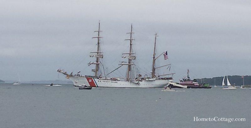 HometoCottage.com Coast Guard Eagle tall ship