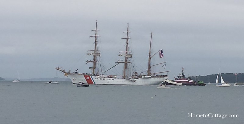 HometoCottage.com Coast Guard Eagle tall ship