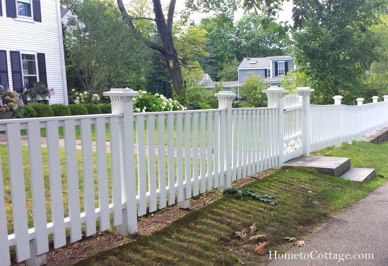 HometoCottage.com wood fence