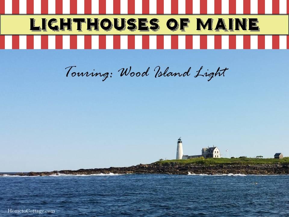 HometoCottage.com Lighthouses of Maine touring wood island light