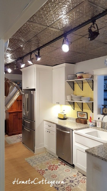 HometoCottage.com track lighting in our kitchen