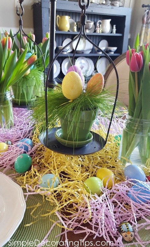 SimpleDecoratingTips.com Easter table details