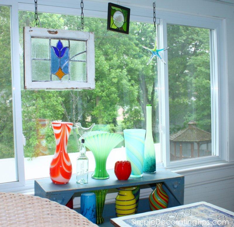 SimpleDecoratingTips.com 2nd story sunporch final reveal
