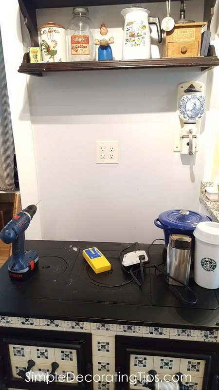 How to Mount a Shelf When There's No Stud SimpleDecoratingTips.com