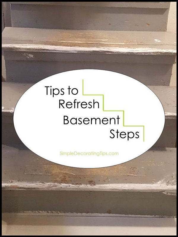 Tips to refresh basement steps SimpleDecoratingTips.com