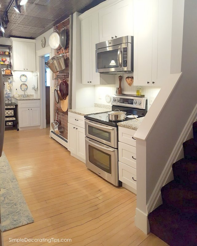 SimpleDecoratingTips.com Our 100 Year Old House Kitchen Renovation Before & After