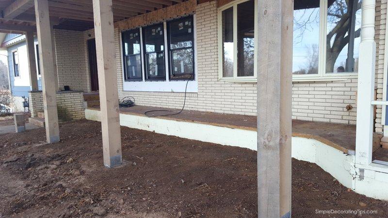 SimpleDecoratingTips.com Adding a Front Porch