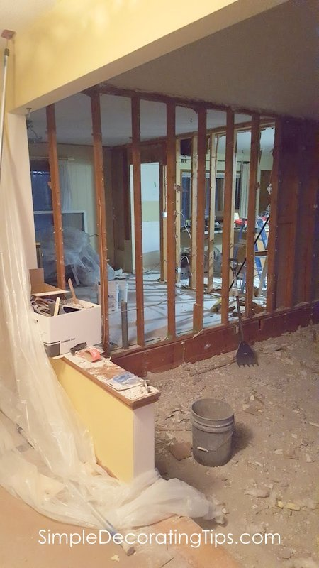 SimpleDecoratingTips.com Progress Report on our Whole House Renovation