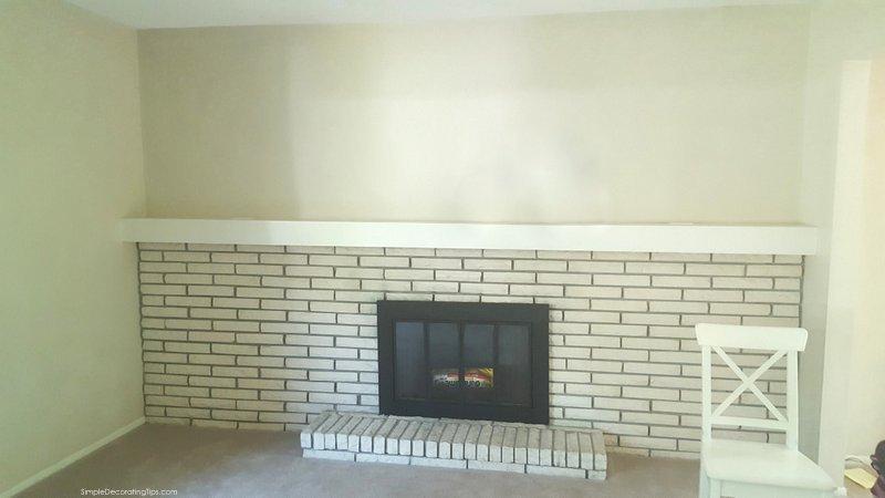 SimpleDecoratingTips.com Farmhouse Style Fireplace