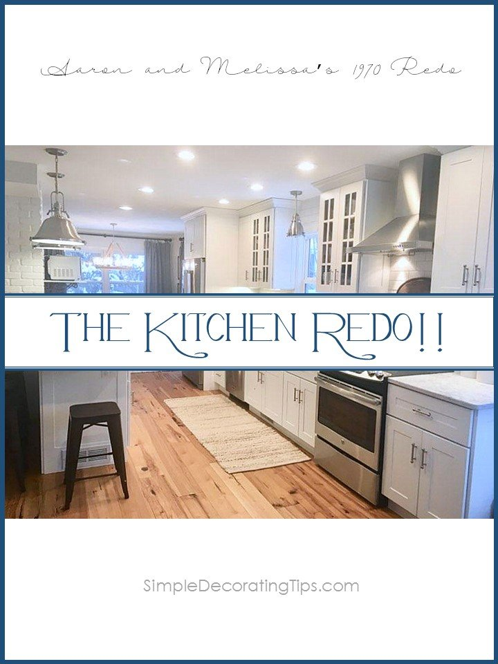 SimpleDecoratingTips.com THE KITCHEN REDO!!