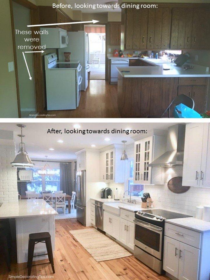 SimpleDecoratingTips.com Kitchen Redo