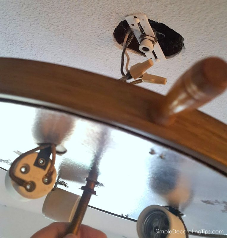 how to install a vintage ceiling light fixture simpledecoratingtips.com