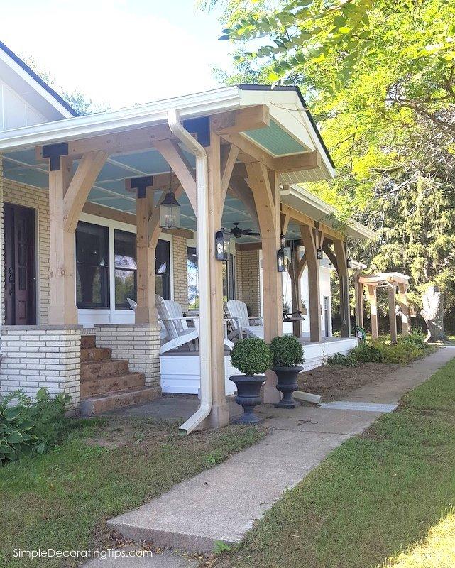 front porch addition SimpleDecoratingTips.com