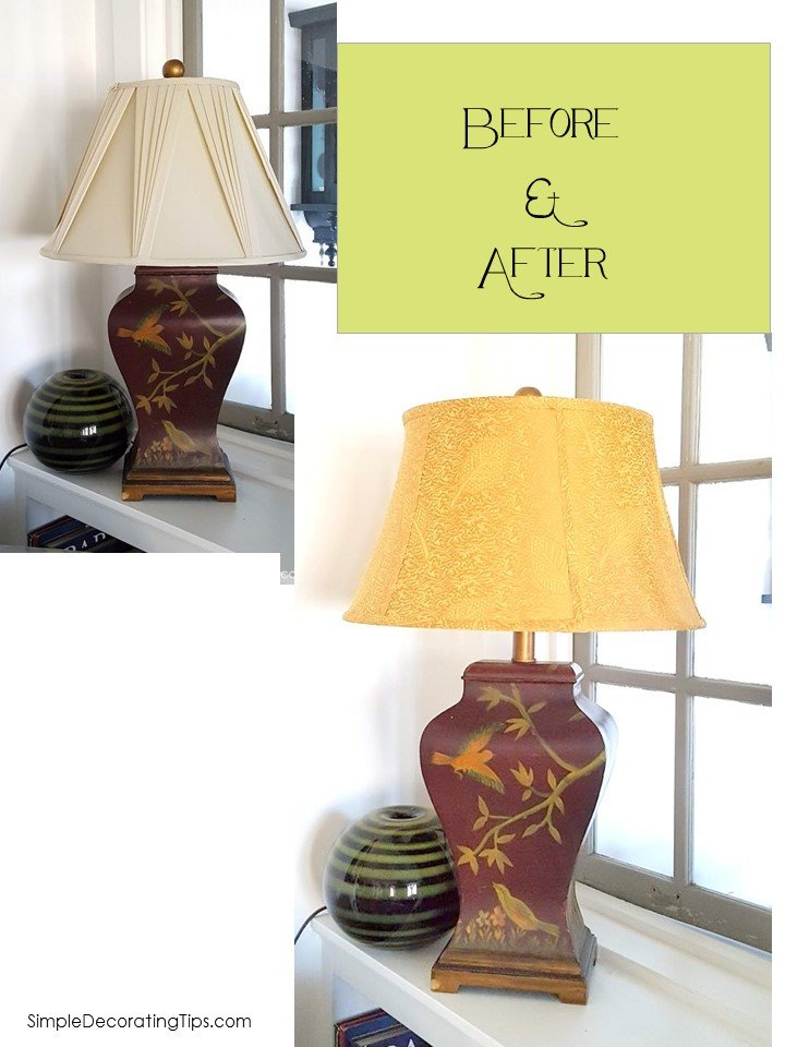 SimpleDecoratingTips.com How to Find the Right Lampshade