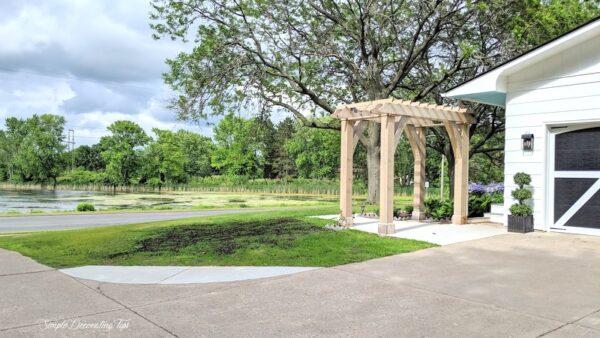 A Pergola and A Garden Update SimpleDecoratingTips.com