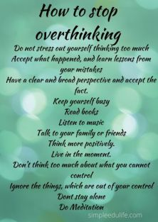 How-to-stop-overthinking