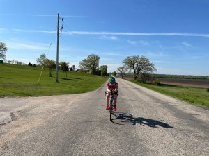 Eileen Whisler, who is an inaugural member of the Simple Endurance Coaching Adventure Team, finished her first adventure of the year.