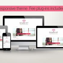SimpleeWP theme01 plug-in Set