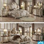غرفة نوم ملكية