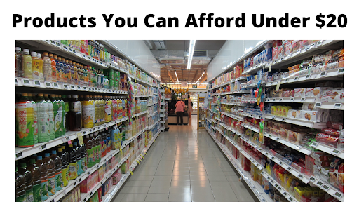 Products You Can Afford Under $20