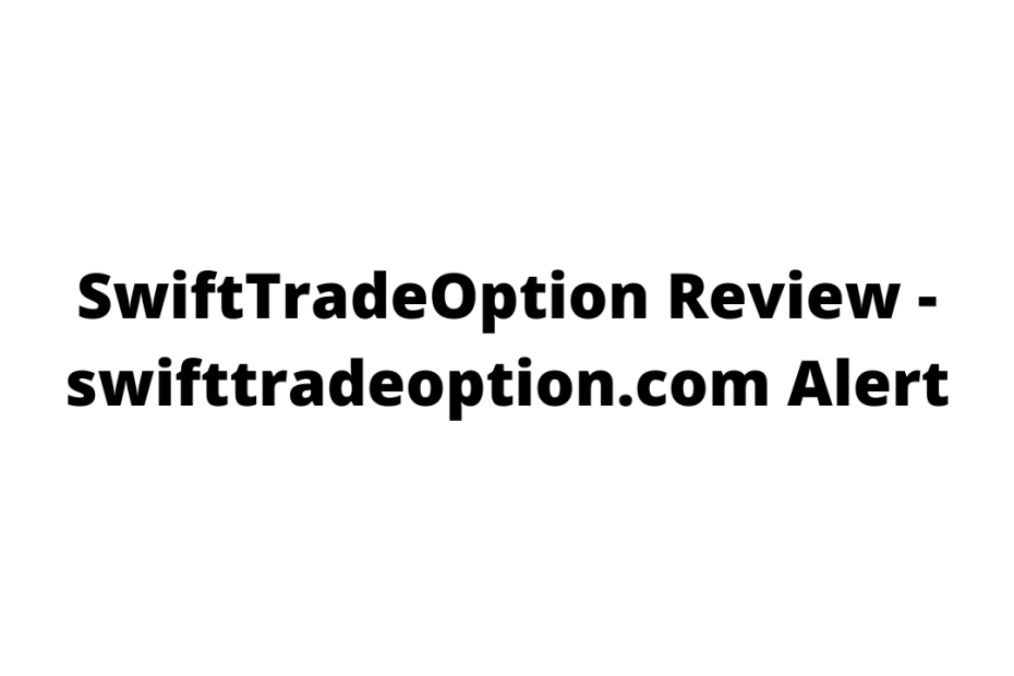 SwiftTradeOption Review