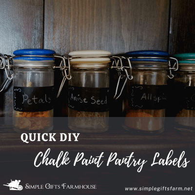 pretty spice jars with quick diy chalk paint pantry labels