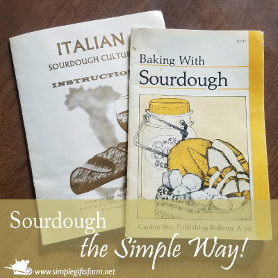 easy sourdough cookbooks