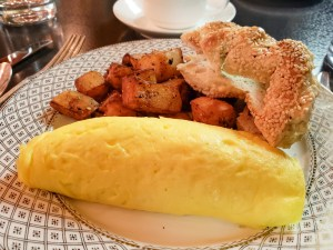 Omelette Forestiére at Bar George