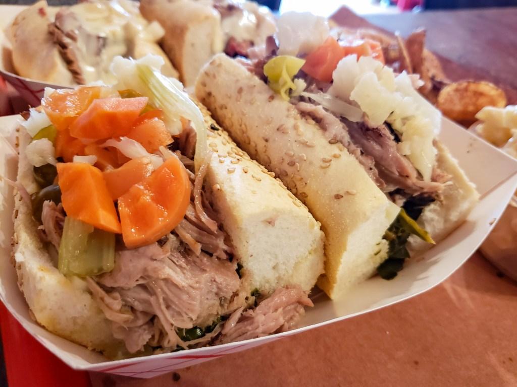 Roast Pork Italiano at Mike's BBQ