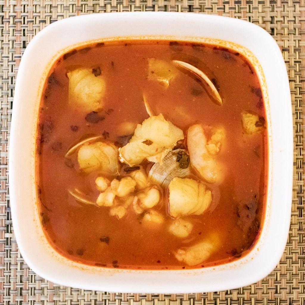 Seafood Pozole
