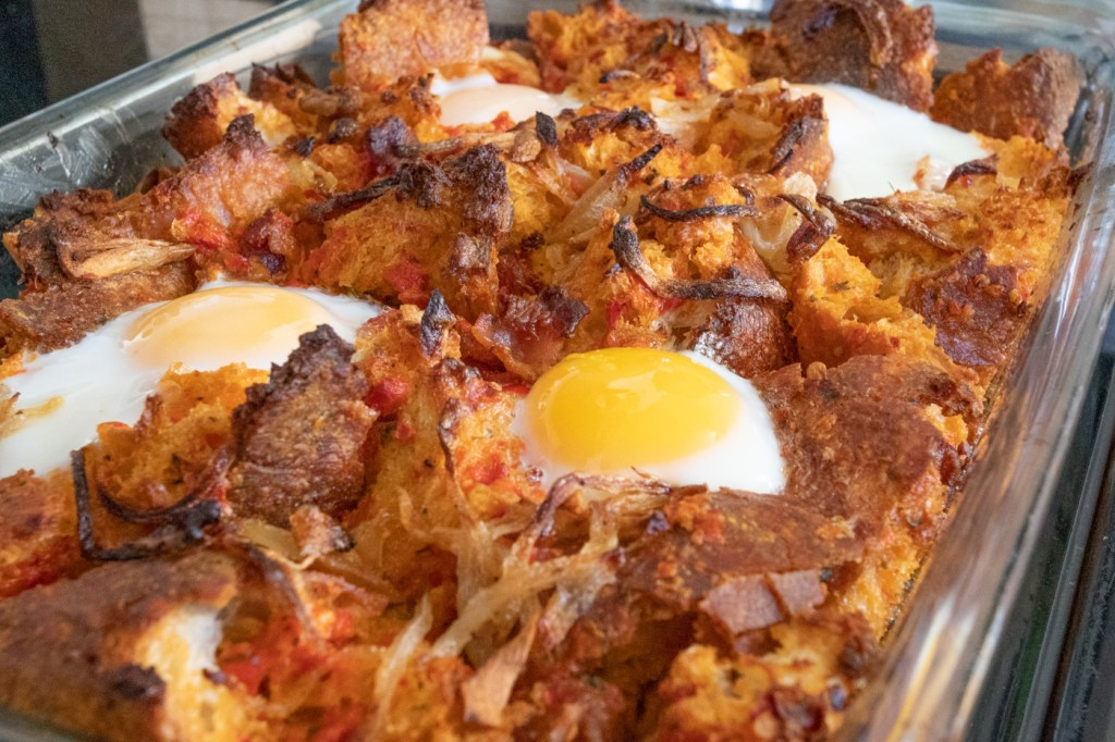 Spanish Breakfast Casserole